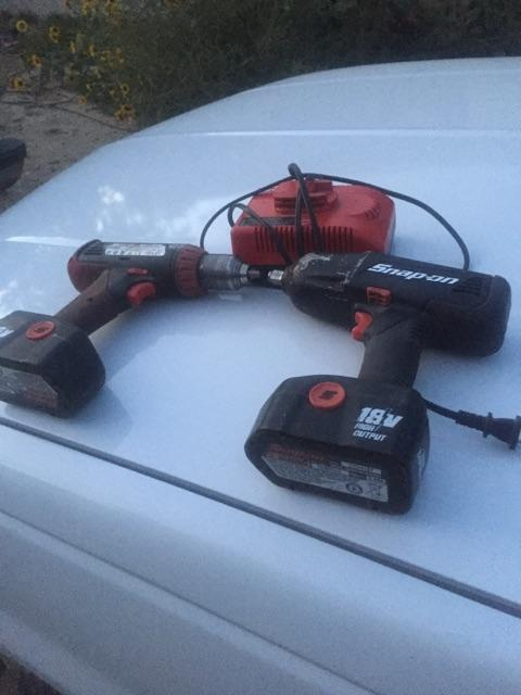 18 volt Snap On impact and drill