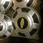 Hubcaps for 3/4 ton chevy