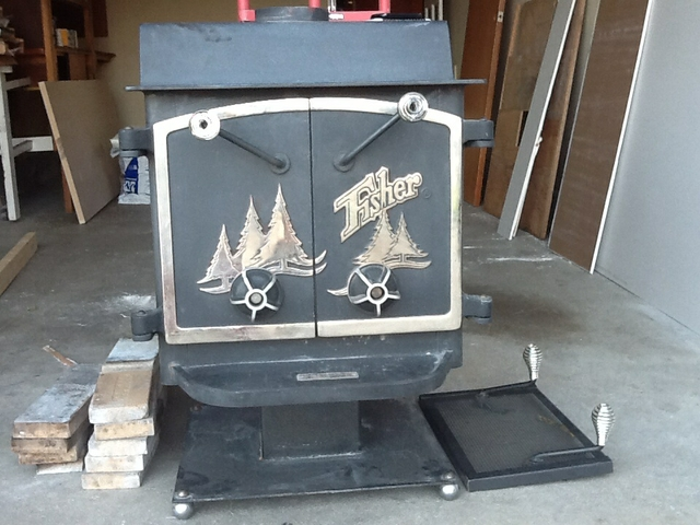 Contact Seller - Used Fisher Wood Stove - PTCI Classifieds