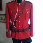 AUTHENIC RCMP ROYAL CANADIAN MOUNTED POLICE UNIFORM + EXTRAS