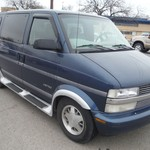'99 Blue Chevy Astro Van