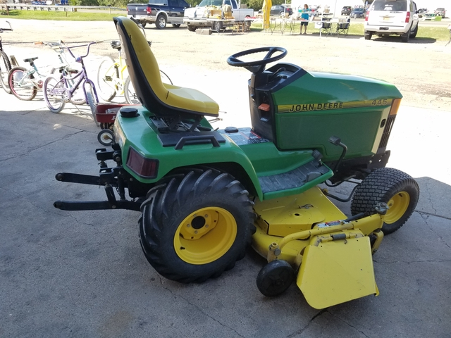 John Deere 445 60 Lawn Tractor With 3 Point And Pto Nex