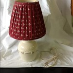 LONGABERGER POTTERY LAMP