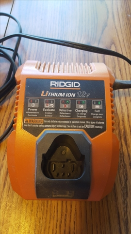 Ridgid 12V Power Tool Charger