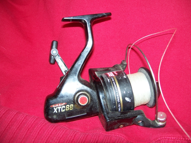 South bend xtc88 open face spinning reel nex tech for Open face fishing reel