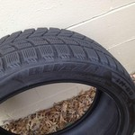 For sale a new set of 4 Bridgestone blizzak 255 40R19 100h