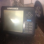 X 65 lowrance fish finder