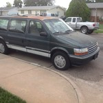 1993 Plymouth Voyager Van not pretty but runs good