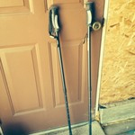 Double Trekking pole set