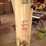 Reliance 40 gal propane water heater