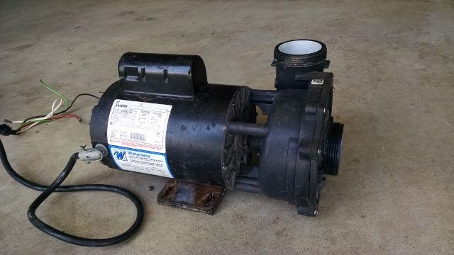 Hot Tub Heater And Pumps Reduced For Quick Sale