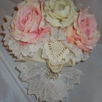BRAND NEW Shabby Chic/Victorian Silk Bouquet