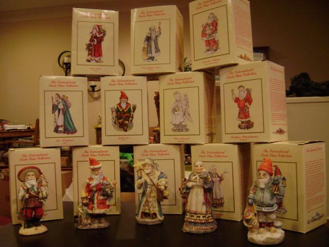 International Santa Claus Collection 12 Of Them New Nex