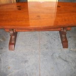 Heavy Duty Rustic Coffee Table (Western Looking)