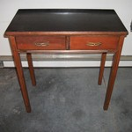 Antique Art Deco Table w/Original Pulls