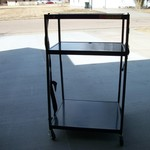 Heavy Duty Utility Cart w/Electrical Cords & Plugs