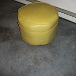Lime Green Foot Stool