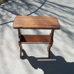 Antique Magazine Rack/End Table