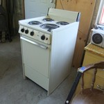 Electric Stove, compact, apartment size