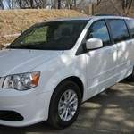 2014 DODGE GRAND CARAVAN SXT 4 DOOR MINI VAN