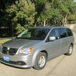 2013 DODGE GR CARAVAN SXT 4 DOOR MINI VAN