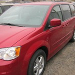 2012 DODGE GR CARAVAN SXT 4 DOOR MINI VAN