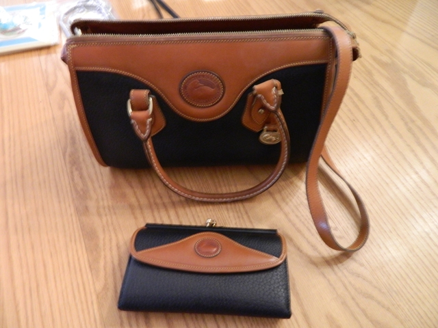 Dooney and Bourke bag with wallet