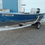17 ft blue star boat