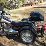 2001 Suzuki Intruder 1500 with Voyager Trike Kit