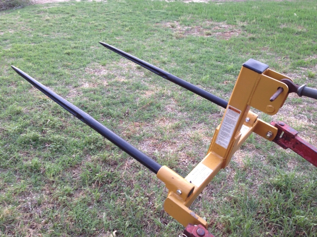 3 Point Forks : Point bale forks new price  pioneer classifieds