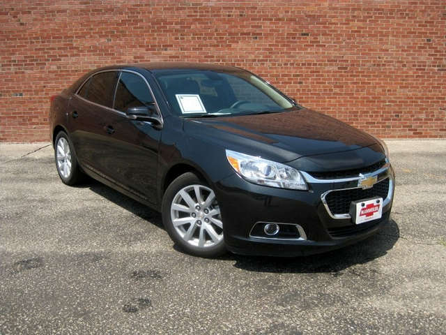2014 chevy malibu 2lt with tinted windows