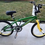 John Deer Freestyle Bicycle