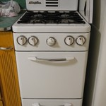 Perfection brand half size gas range/oven