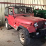 1976 Jeep Cj7 automatic AMC inline 6. All original!