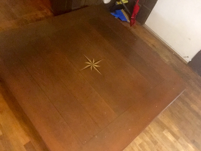 Vintage Baker Furniture Co. Coffee Table