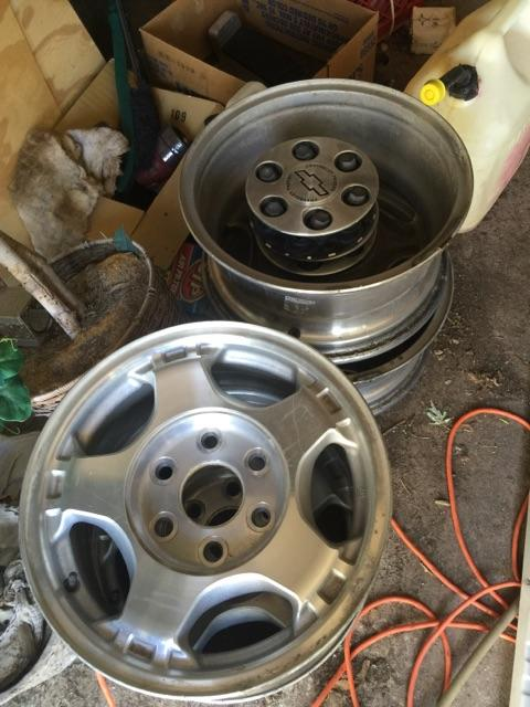 Chevy truck rims