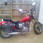 1985 honda Rebel