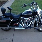 2010 Harley Road King Classic with many extras
