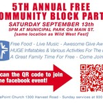 5th Annual Free Community Block Party