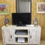 Hand Painted and Distressed Furniture For Sale