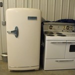 Kelvinator Refrigerator and Stove set