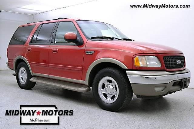 2001 ford expedition eddie bauer edition 255k nex tech for Midway motors used car supercenter mcpherson ks