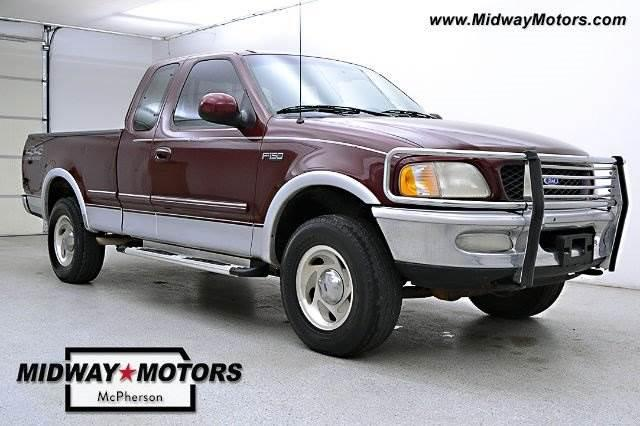 1997 ford f150 4x4 ext cab lariat 197k nex tech classifieds for Midway motors used car supercenter mcpherson ks