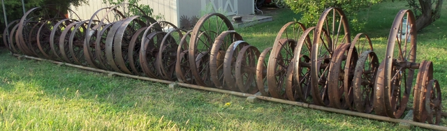 47 Antique Iron Wheels Trade For Ford 7039s 4x4 Truck