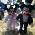 Vintage Collectible Mickey and Minnie