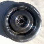 Temporary Spare Tire, Never Used, VW Jetta