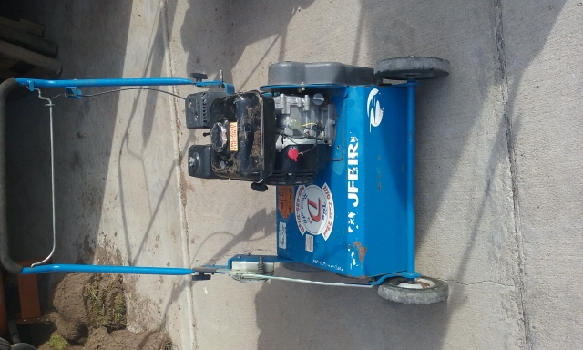 Bluebird 18quot power rake