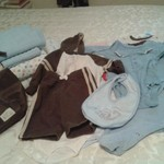 Baby Boy Blankets & Clothes