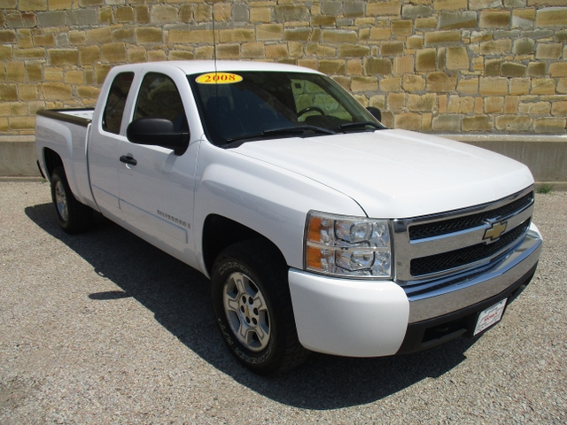 2008 CHEVY SILVERADO, K1500 EXTCAB 4X4 SHORT BED