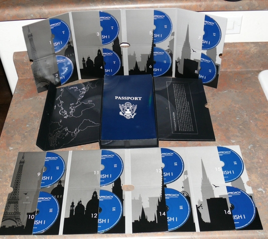 PIMSLEUR APPROACH GOLD Edition Spanish I and Spanish II 16 CD Sets (32 CD's Total)